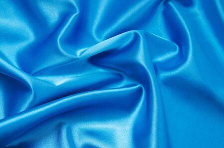 blue satin: blue satin