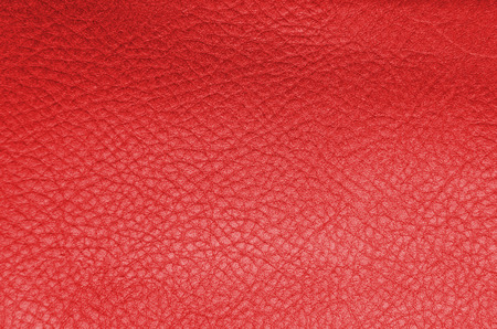 red leather: Red leather background
