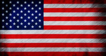 faded: Flag of USA