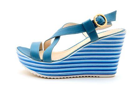 opentoe: Stylish womens shoes on a white background.