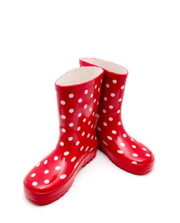 welly: Gumboots. Isolated on white.