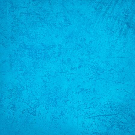 decorative background: Grunge blue wall background or texture Stock Photo