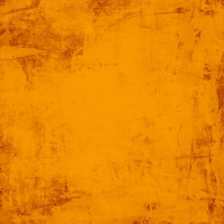 yellow paint: Abstract orange background texture