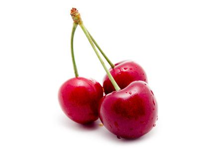 Sweet ripe cherry Stockfoto