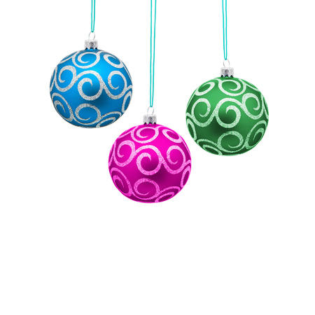 orbs: Beautiful christmas balls Stock Photo