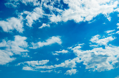 nebulosity: blue sky background with white clouds