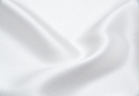 white satin: white satin fabric as background