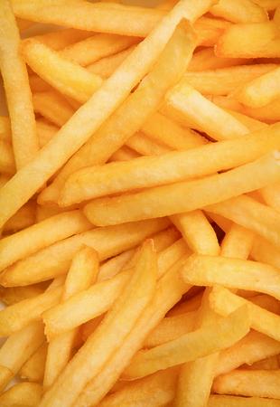 French fries background Reklamní fotografie - 52830203