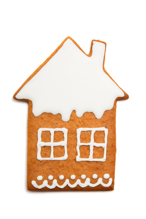 christmas house: Christmas gingerbread house.
