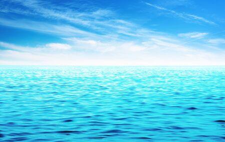 wavelet: Beautiful sky and blue sea