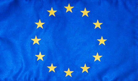 Flag of EU.