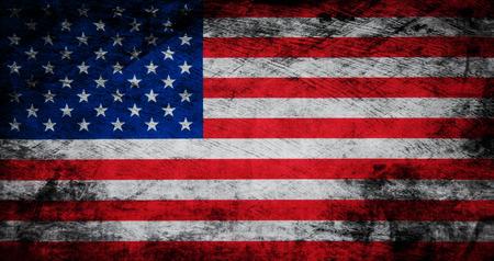Flag of USA Banco de Imagens - 56221002