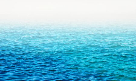 blue background: Blue sea water background Stock Photo