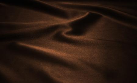 Textura marrón satinado, fondo de seda Foto de archivo