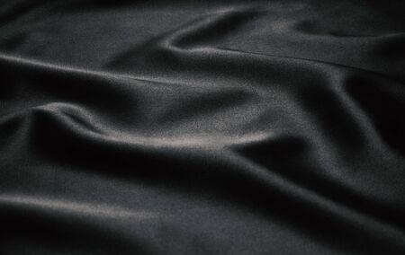 black satin: Texture black satin, silk background