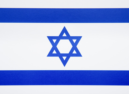Israel Flag.Flag of Israel: rightly proportions and colors