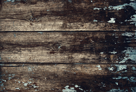 wainscot: Old wooden planks background texture Stock Photo
