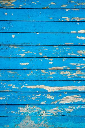 Texture of Wood blue panel for background Stock Photo