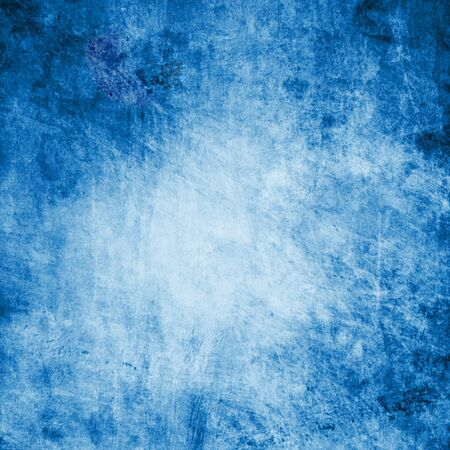 weathered: Abstract blue background Stock Photo