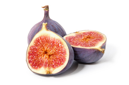 Fig isolated on white background. Banque d'images