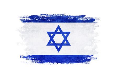 Flag of Israel grunge