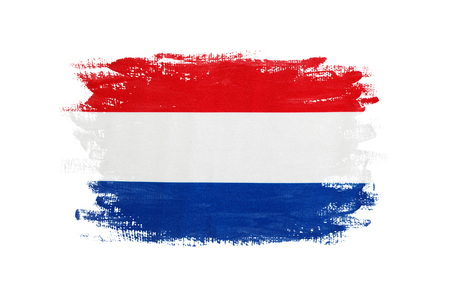 Flag of Holland Stock Photo