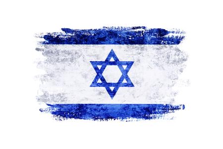 Flag of Israel, grunge