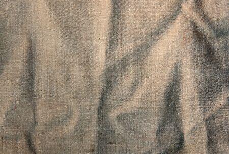 grunge sacking texture. Stock Photo