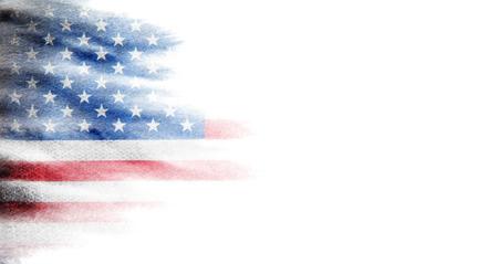 Bandera de estados unidos Foto de archivo