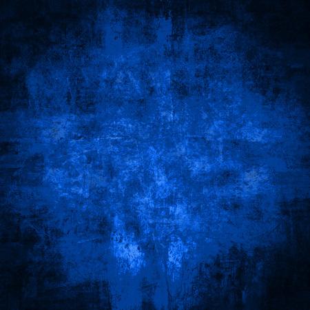 Fond ou texture de mur bleu grunge