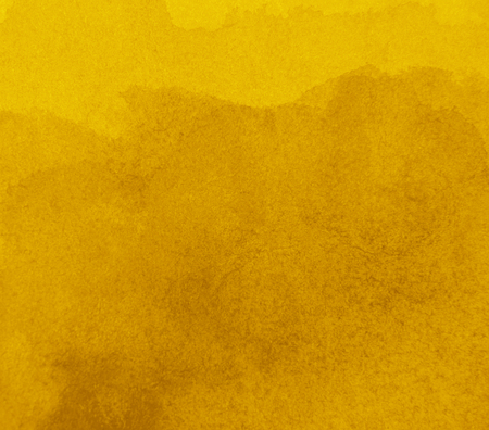 Abstract yellow background in watercolor style
