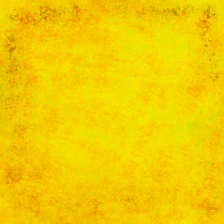 Gelber Grunge Hintergrund Standard-Bild