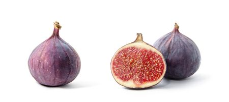 Fig isolated on white background. Banco de Imagens