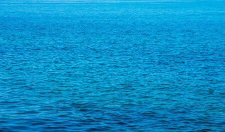 Blue sea water background texture