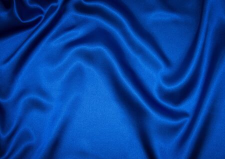 Beautiful background with cloth blue Banco de Imagens