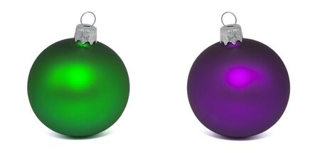 Christmas ball New Years isolated on white background