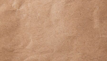 Brown wrinkle recycle paper background texture