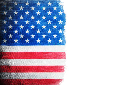 Flag of USA grunge background Zdjęcie Seryjne