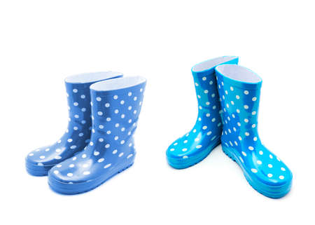 Gumboots isolated on white background