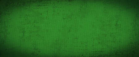 Green background with abstract and vintage grunge background texture