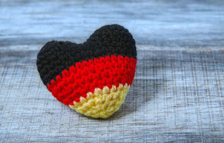 Germany Flag in a heart, Germany Flag,
