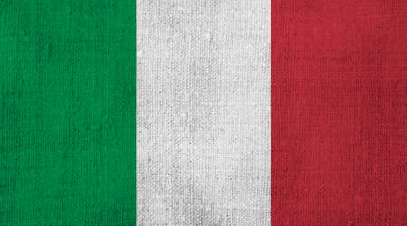 Grunge Flag of Italy background