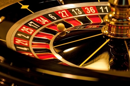 roulette wheel: Roulette with  winning number.