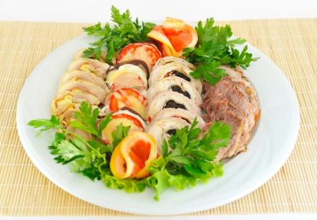 meatloaf: Meatloaf, sliced