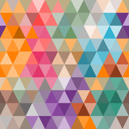 Background of colored triangles