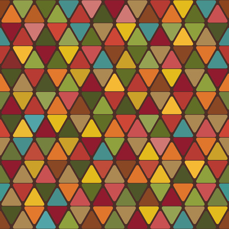 three dimensional accessibility: Abstract background of triangles with rounded corners bright color variations. Vector. Illustration
