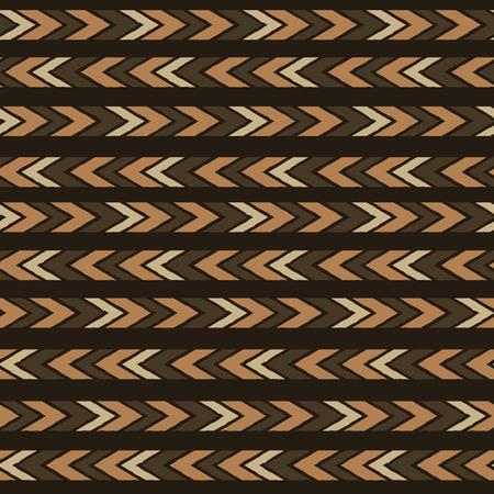 antic: Seamless  ethnic tribal pattern with  aztec motives. Illustration