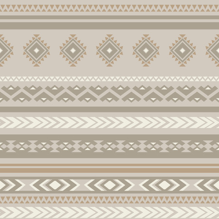 antic: Seamless ethnic striped ornamental pattern .