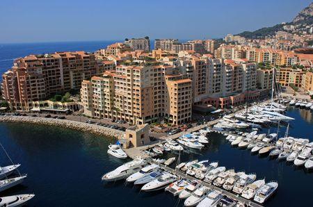 fragment: Monaco harbor fragment
