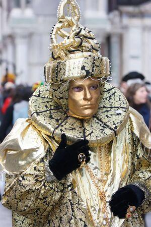 mardigras: Venetian golden mask on Mardi Grass